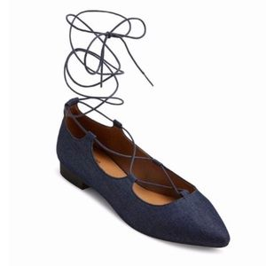 New without tags Mossimo Lace up Flats
